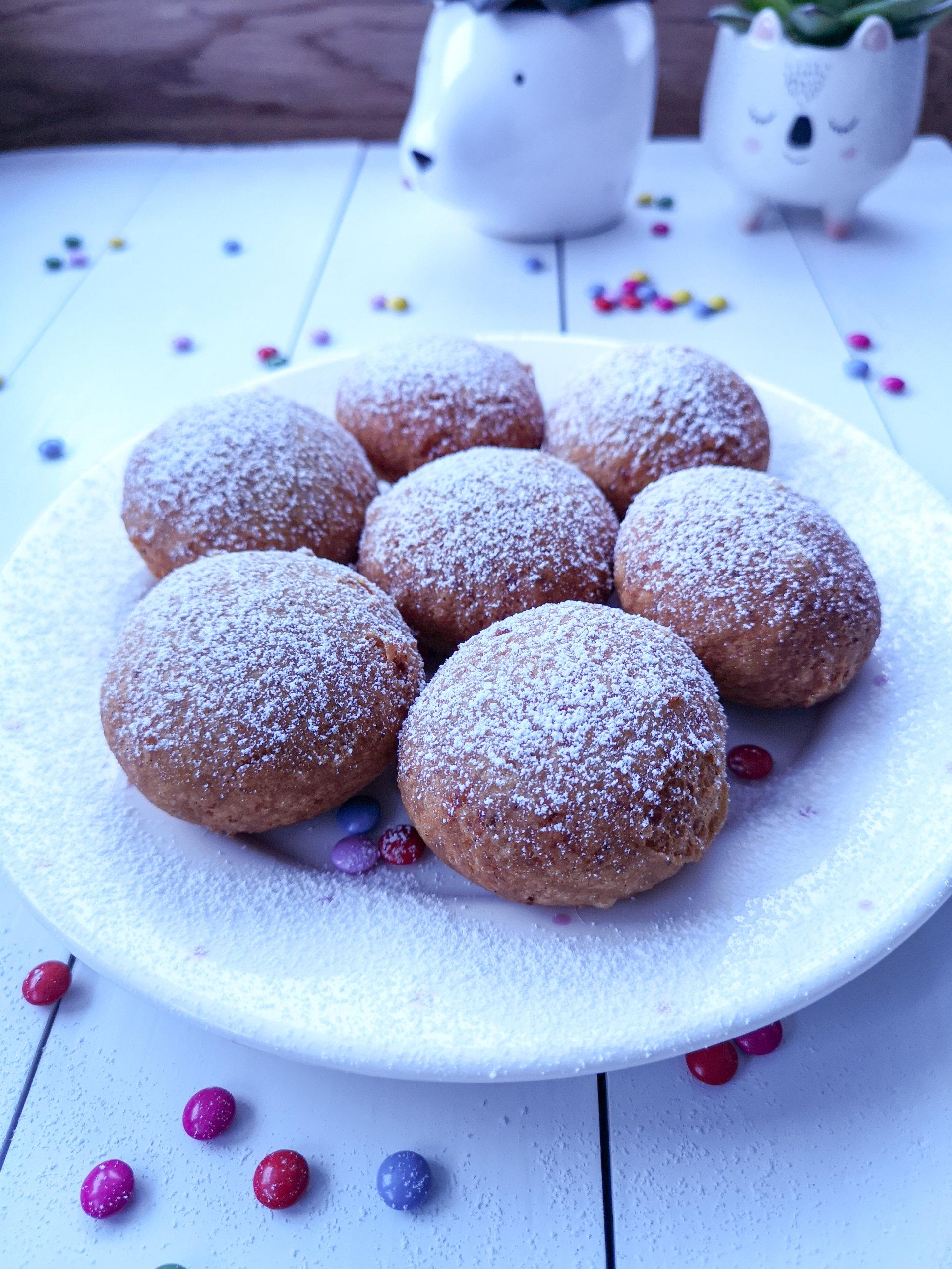 Wegańskie pączki zziemniakami