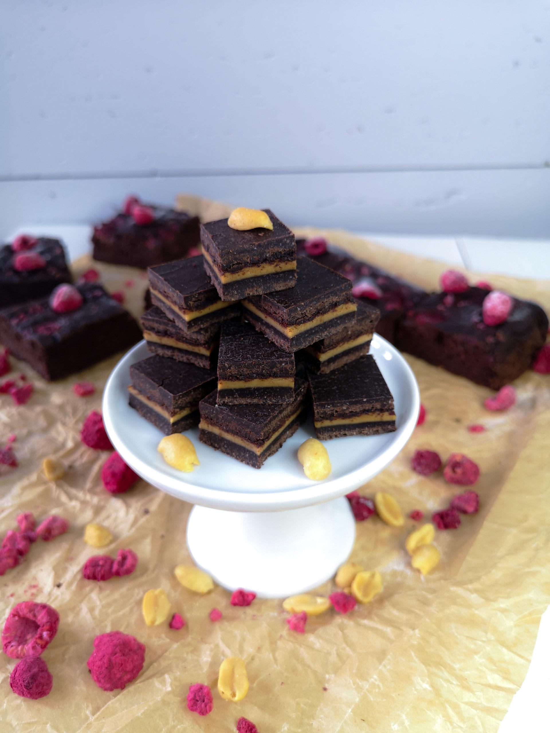 Wegańskie czekoladki orzechowe