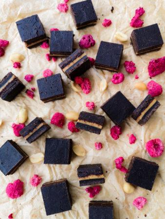 Wegańskie czekoladki orzechowe (RAW)