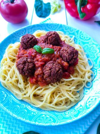 Wegański sos dospaghetti